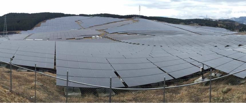 写真:太陽光発電