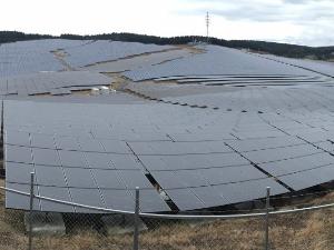 写真:太陽光発電設置管理事業
